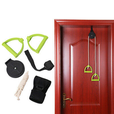 Shoulder Pulley for Physical Therapy Exercises - Metal Bracket Door-Attachment