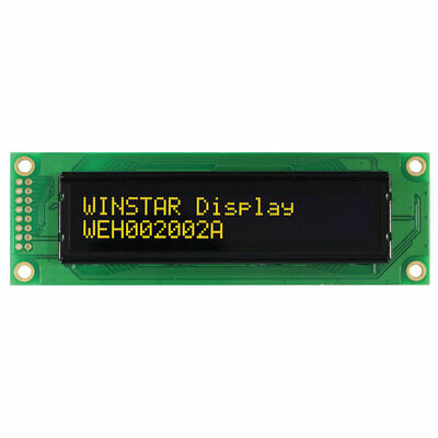 Winstar WEH002002A 20x2 Small OLED Display Yellow