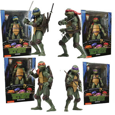"NECA Teenage Mutant Ninja Turtles TMNT 7"" Action Figure 1990 Movie Collection"