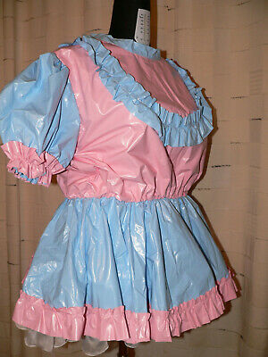 R23*Adult Baby Sissy pvc dress Kleid