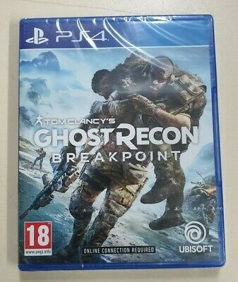 Tom Clancy's Ghost Recon Breakpoint - PS4 - New & Selaed