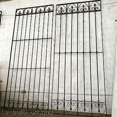 Early 1900'S Spanish Wrought Iron Decorative Panels / Gates/ Window Guards