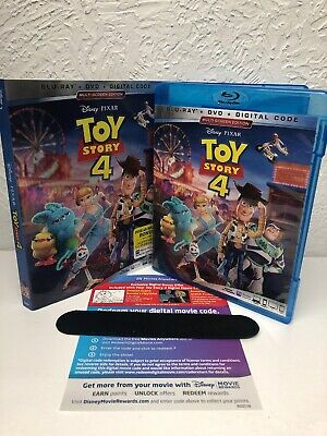 Toy Story 4 Blu-ray + Digital HD (NO DVD INCLUDED) Please Read (BEWARE OF FAKES)