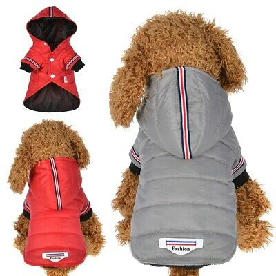 Waterproof Warm Dog Jacket Coat Pet Winter Clothes for Small Medium Large Dogs
