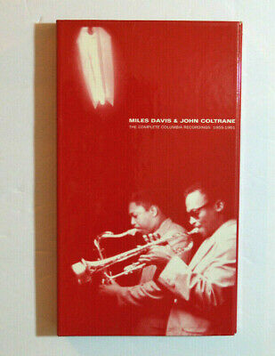 Jazz Box Set Cd - Miles Davis & John Coltrane - Complete Columbia Recordings 6Cd