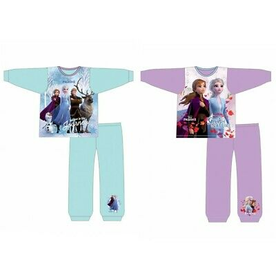 Girls Disney 'Frozen 2' Long Pyjamas Pjs Toddler Age 1-5 Years