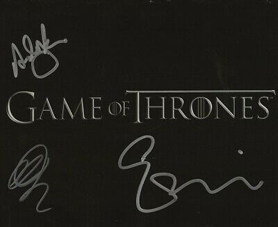Margaret Jackman Photo Signed In Person F769 Game Of Thrones