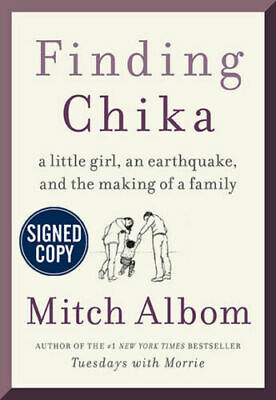 SIGNED Finding Chika-A Little Girl an Earthquake and the Making of Family-Albom