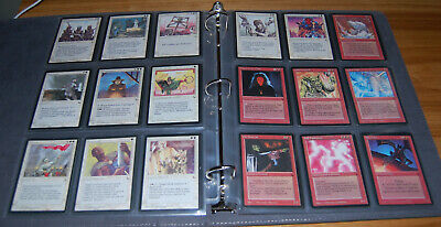 MTG complete set of The Dark light play 119/119 Magic the Gathering Old School