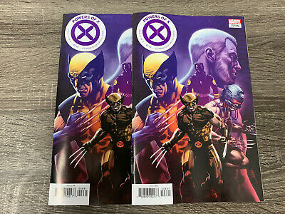 MARVEL POWERS OF X 6 : CAFU CHARACTER DECADES VARIANT : x2 COPIES : NM
