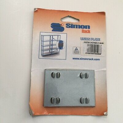 Simon rack Union Plate for shelving Blister 2 Pletinas DE Union New