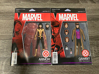 Marvel House Of X 6 + Powers Of X 6 : Action Figure Variants Bundle : Nm
