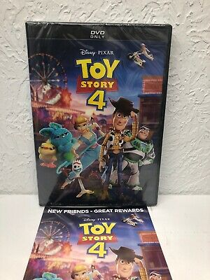 Toy Story 4 2019 DVD Authentic With Disney Rewards (BEWARE OF CHEAP FAKES SOLD)