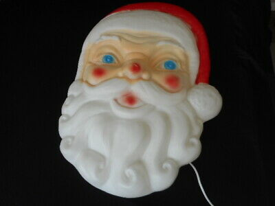 """Vintage Empire Lighted Christmas Santa Head Blow Mold 24"""" with Cord"""