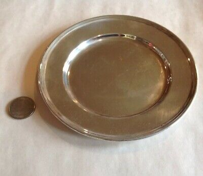 "Vintage Wallace Sterling Silver 925 Grand Colonial Pattern #2899 Bread Plate 6""W"