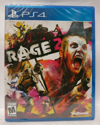 Rage 2 (Playstation 4, 2019) PS4 Brand New Factory Sealed, REGION FREE