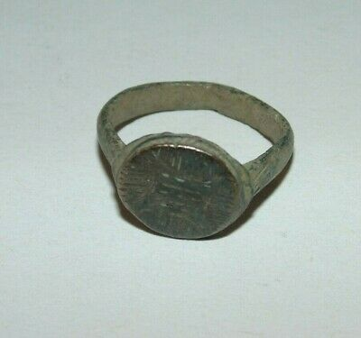 Ancient Medieval Circa 2nd Century Old Signet Roman Ring Signet Us Size 7 Pinky