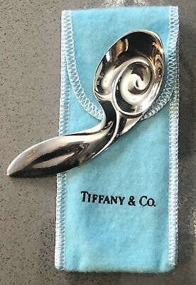 Vintage Tiffany & Co. Sterling Silver Baby Bunny Rabbit Spoon 39 Grams