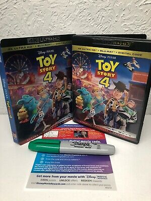 Toy Story 4 2019 4K Disc + Digital UHD (NO BLU RAY DISC INCLUDED) Please Read