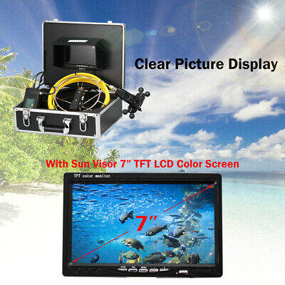 LCD 50M Pipe Inspection Camera IP68 Drain Sewer Pipeline Industrial Camera S3Z7