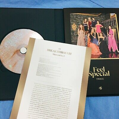 TWICE Feel Special 8th Mini Album Opened New C Version CD + Booklet NO Photocard