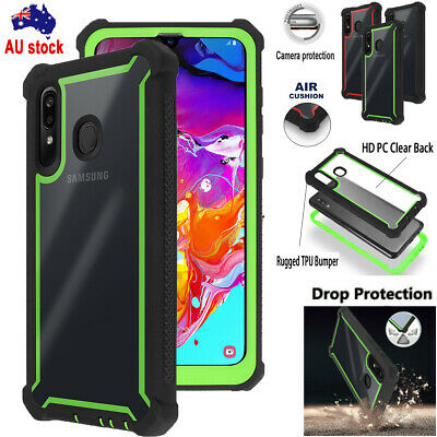 Fr Samsung Galaxy A20/A30/A50 Heavy Duty Air Cushion Case Shockproof Tough Cover