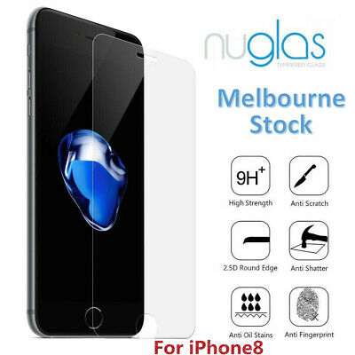 For iPhone 8 Premium NUGLAS Tempered Glass Screen Protector Superior Protection