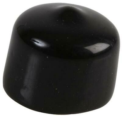 Black PVC Protective Dust Covers / Caps Type N & UHF Plugs 20.5x15mm