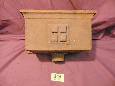 Cast Iron Victorian Hopper Planter Fountain 344