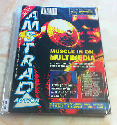 Amstrad Action Magazine No 58 - July 1990 - Bagged (VERY GOOD)
