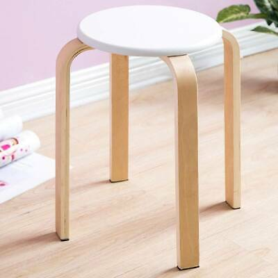 Astounding Anti Slip Solid Wood Stacking Stool Home Kitchen Furniture Theyellowbook Wood Chair Design Ideas Theyellowbookinfo