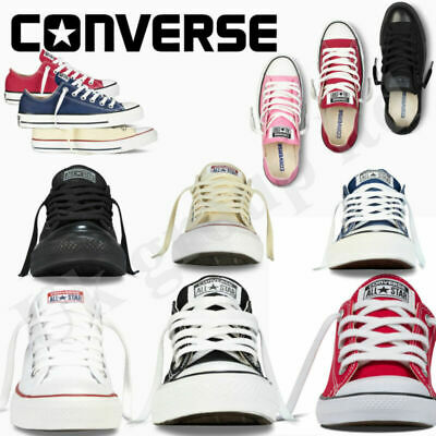 Converse Women Men Unisex All Star  Low Top Classic  AVAILABLE IN ALL SIZES