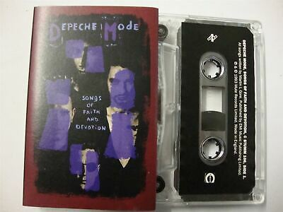 Depeche Mode - Songs Of Faith and Devotion   Cassette Tape