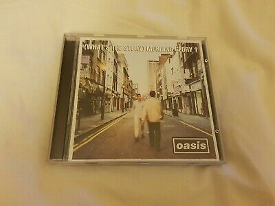 """Oasis Cd Album """"What's The Story Morning Glory"""" 1995 - 12 Track Cd"""