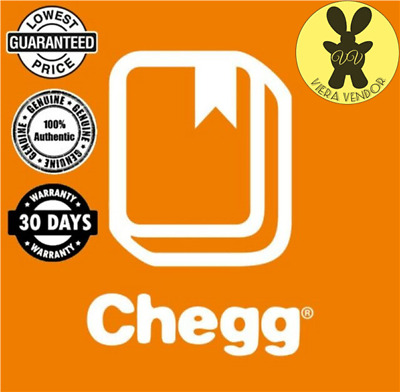 30 DAYS Access Chegg Study Premium PRIVATE Account (100% Genuine and Working)