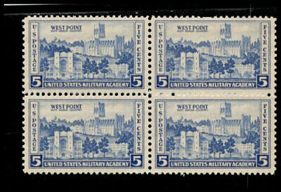 Oas-Cny 06723 Army-Navy Issue 1936 Scott 789 $0.05 West Point Mnh