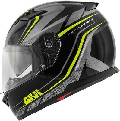 GIVI Helm Raptor Black/Neon  Yellow