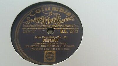 Les Brown And His Band Of Renown Sixpence &  Carioca Columbia Db2773