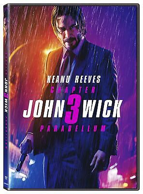 John Wick: Chapter 3 Parabellum (DVD, 2019) Keanu Reeves BRAND NEW FAST SHIPPING