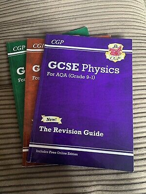 Aqa GCSE Science books. Chemisry, Biology and Physics. New conditions.
