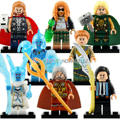 NEW LeGO THOR LOKI ODIN 250297 - Rare Minifigures MARVEL HERO IRON MAN BUY4GET1