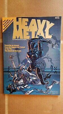 HEAVY METAL magazine - VERY FIRST ISSUE - APRIL 1977 - MINT!