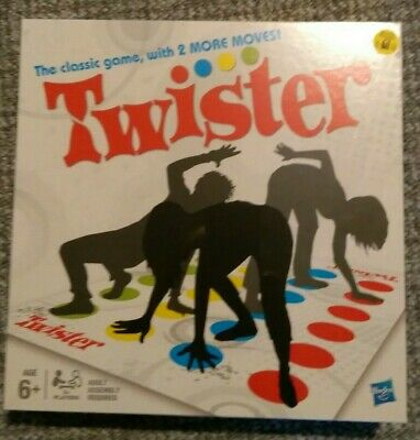 Funny Twister The Classic Family Children Kids Party Body Game With 2 More Moves