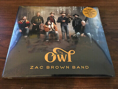 ***BRAND NEW - FACTORY SEALED CD*** The Owl by Zac Brown Band