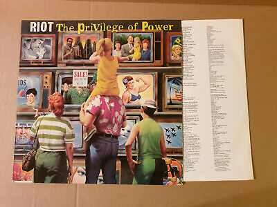 Riot  ‎– The Privilege Of Power , LP