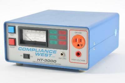 AS IS Compliance West HT-3000 Dielectric Withstand Tester - Analog