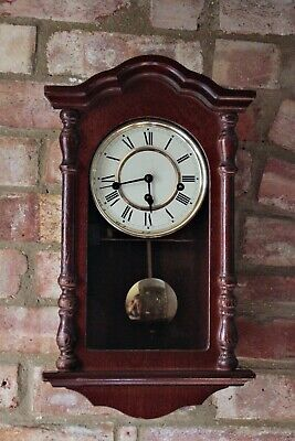 Vintage German  8-Day Wall Clock with Westminster Chimes