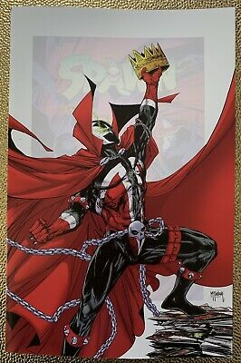 Spawn #301 Nm Or Better  Todd Mcfarlane 1:25 Virgin Variant