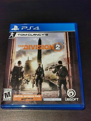 Tom Clancy's The Division 2 (Sony PlayStation 4) PS4