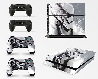 Playstation 4 PS4 Konsolen-Gehäuseaufkleber, Motiv: Star Wars Battlefront Storm